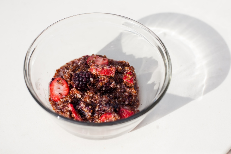 Berry Quinoa Breakfast