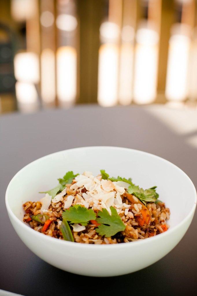 coconut grain bowl
