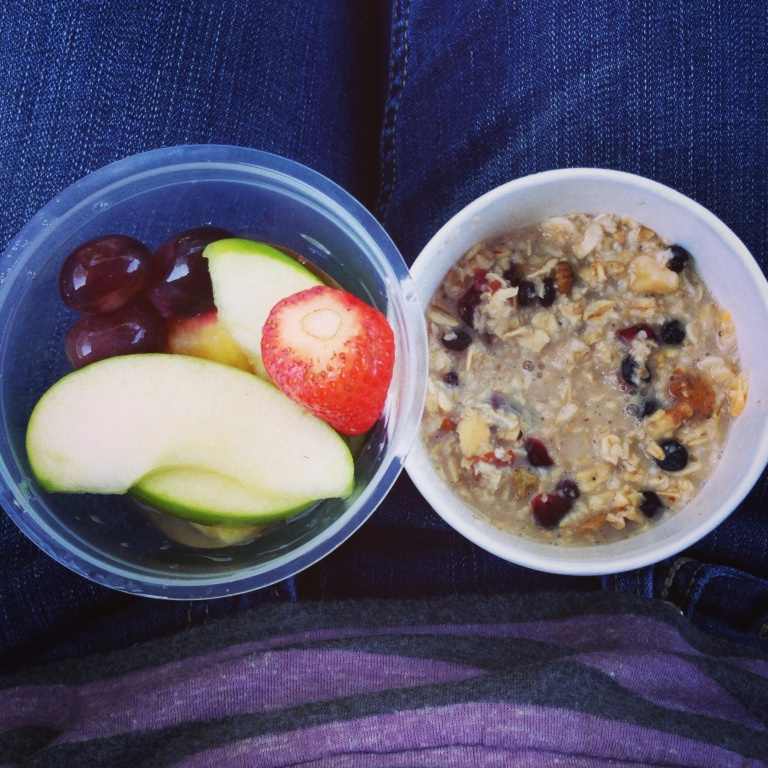 breakfast on the go!