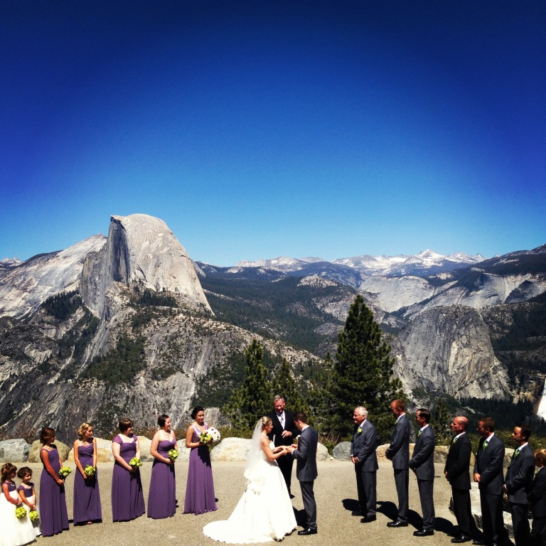 yosemite wedding!