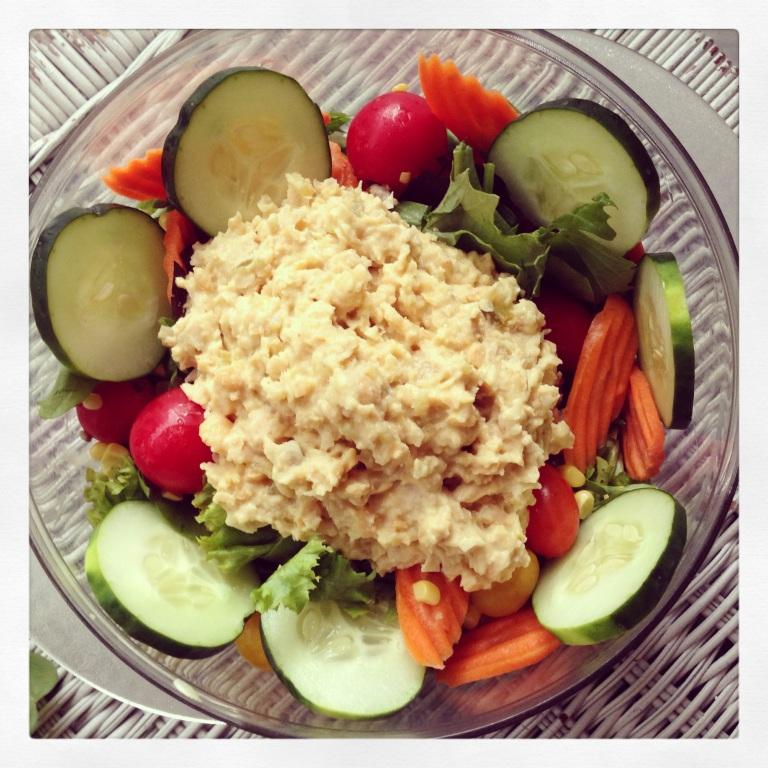 chickpea salad salad!