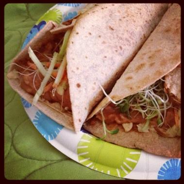 soy free tacos!