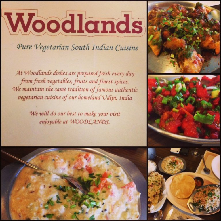 ruh roh. new veggie indian - woodlands.