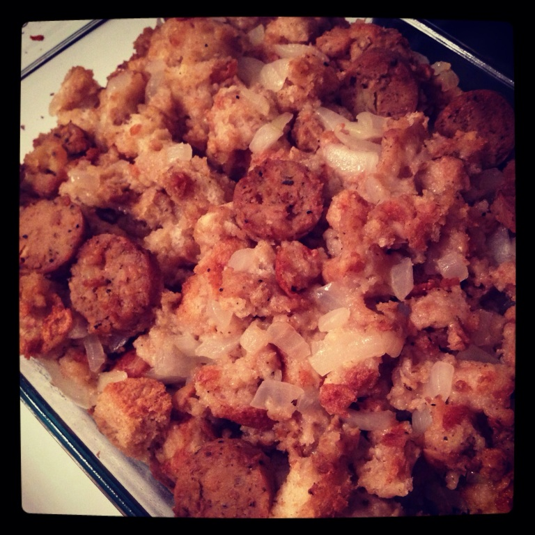 stuffing is my favorite! yum!