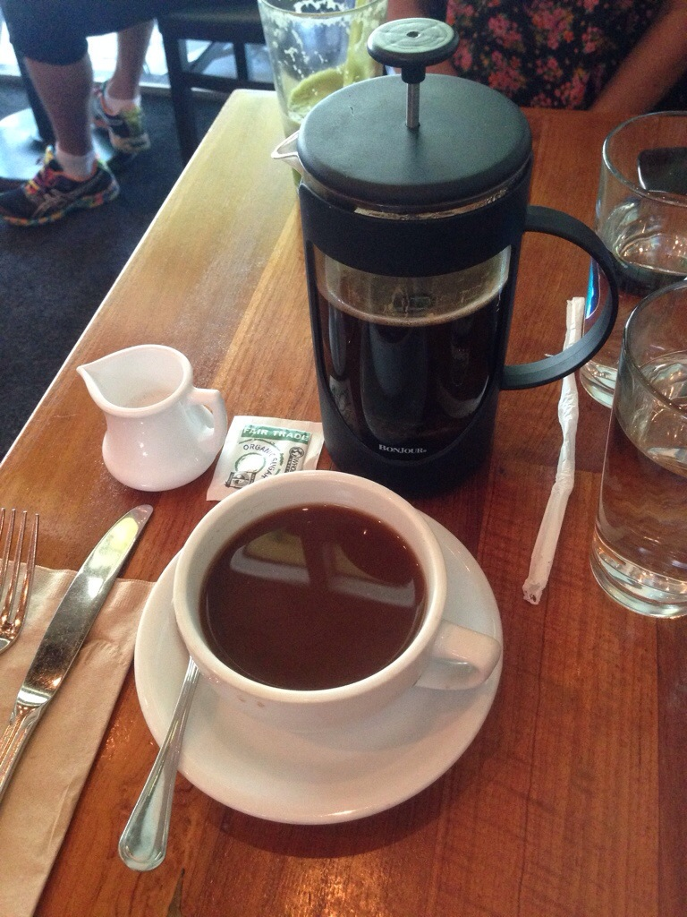 no brunch is complete without a french press of coffee <3
