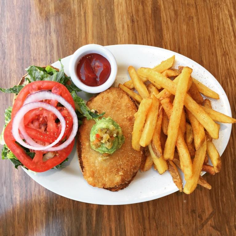 mmmmmm vegan fast food!